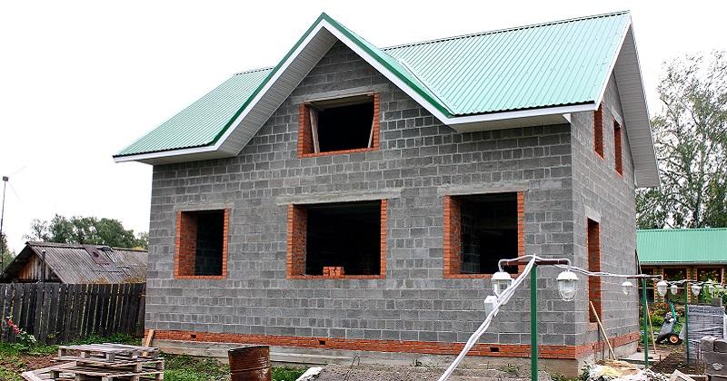 Строительство домов из керамзитобетонных блоков в Екатеринбурге