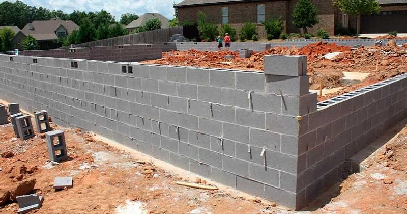 Строительство домов из шлакоблоков