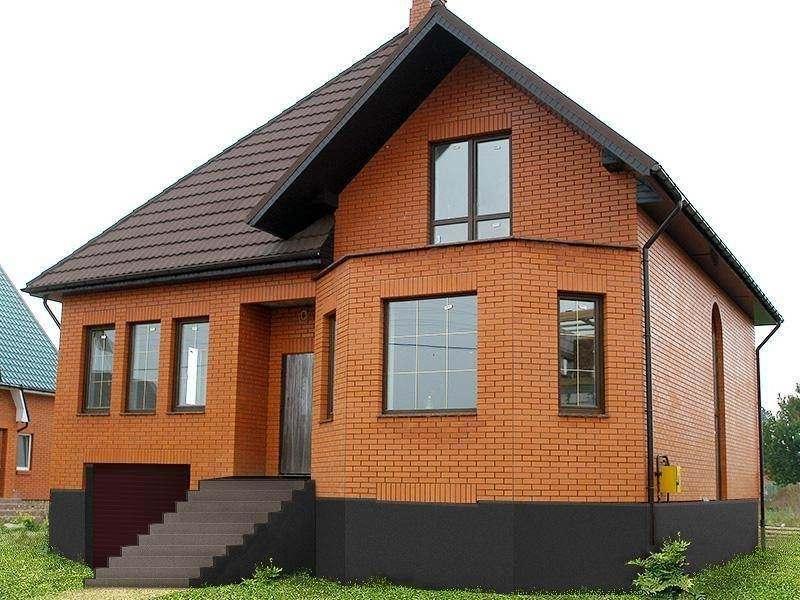 Строительство загородных домов из кирпича в Екатеринбурге