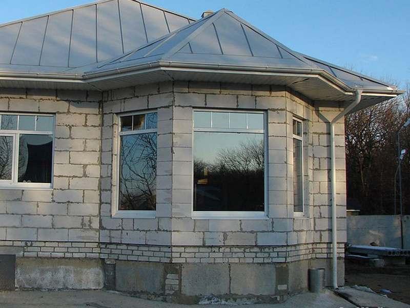 Строительство домов из блоков под ключ в Екатеринбурге