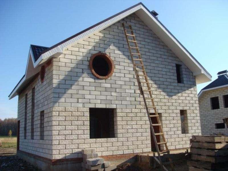 Ремонт дома из пеноблоков